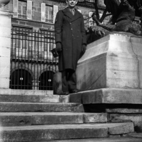 JPJ on the steps of Paris II