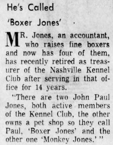 Boxer Jones