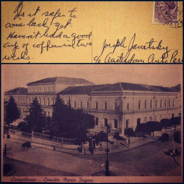 Campobasso Postcard