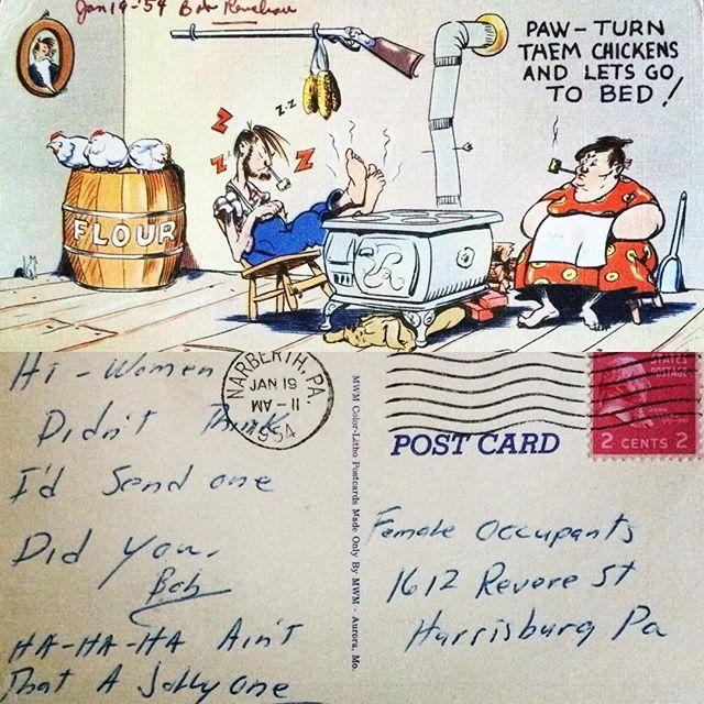 Narberth Postcard